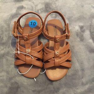 Brown MK Sandal ✂️